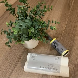 IKEA Bastis lint roller with refills
